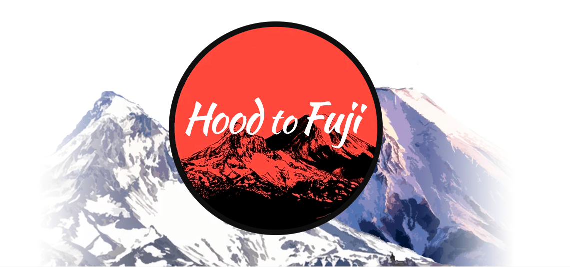 「Hood to Fuji」