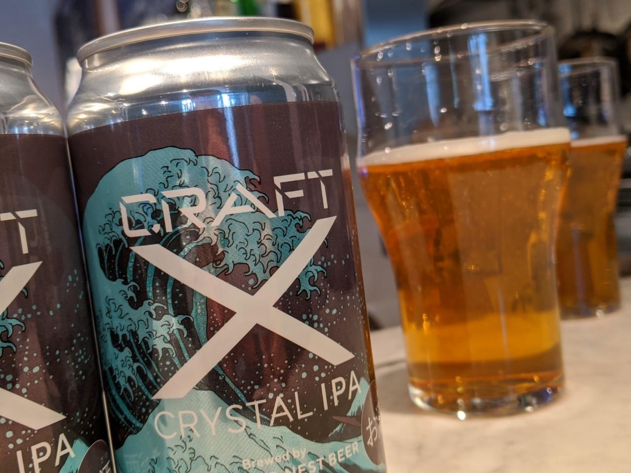 「CRAFT X」クリスタルIPA