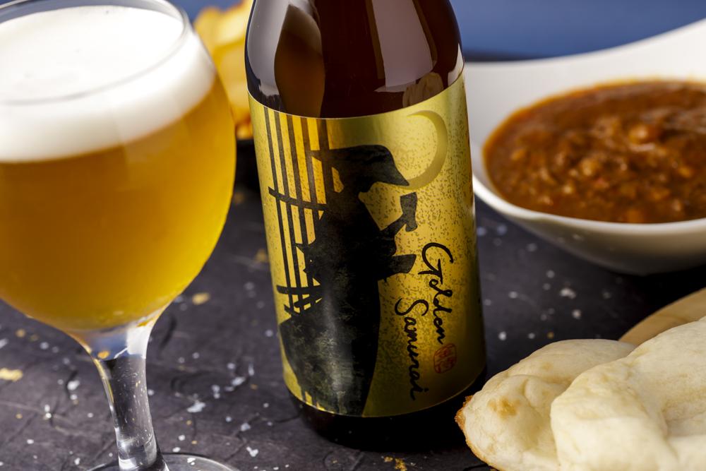 KURANDクラフトビール「ゴールデン侍(ゴールデンザムライ)」