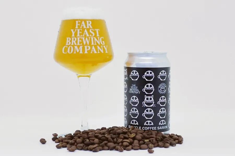 Far Yeast Brewing「Far Yeast Bicycle Coffee Saison」