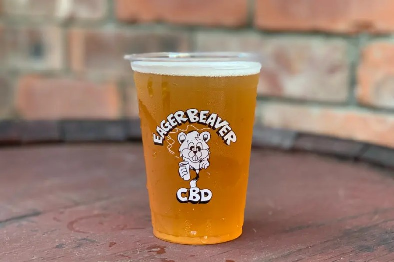 CBD NATION × FARCRY BREWING「EAGER BEAVER CBD-infused DOUBLE IPA」