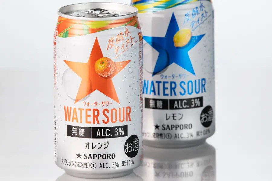 サッポロビール 「サッポロ WATER SOUR オレンジ」