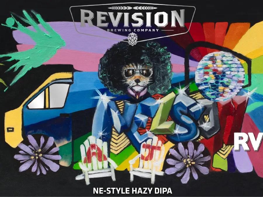 リヴィジョンブリューイング「Revision 4th Anniversary Nelson RV」