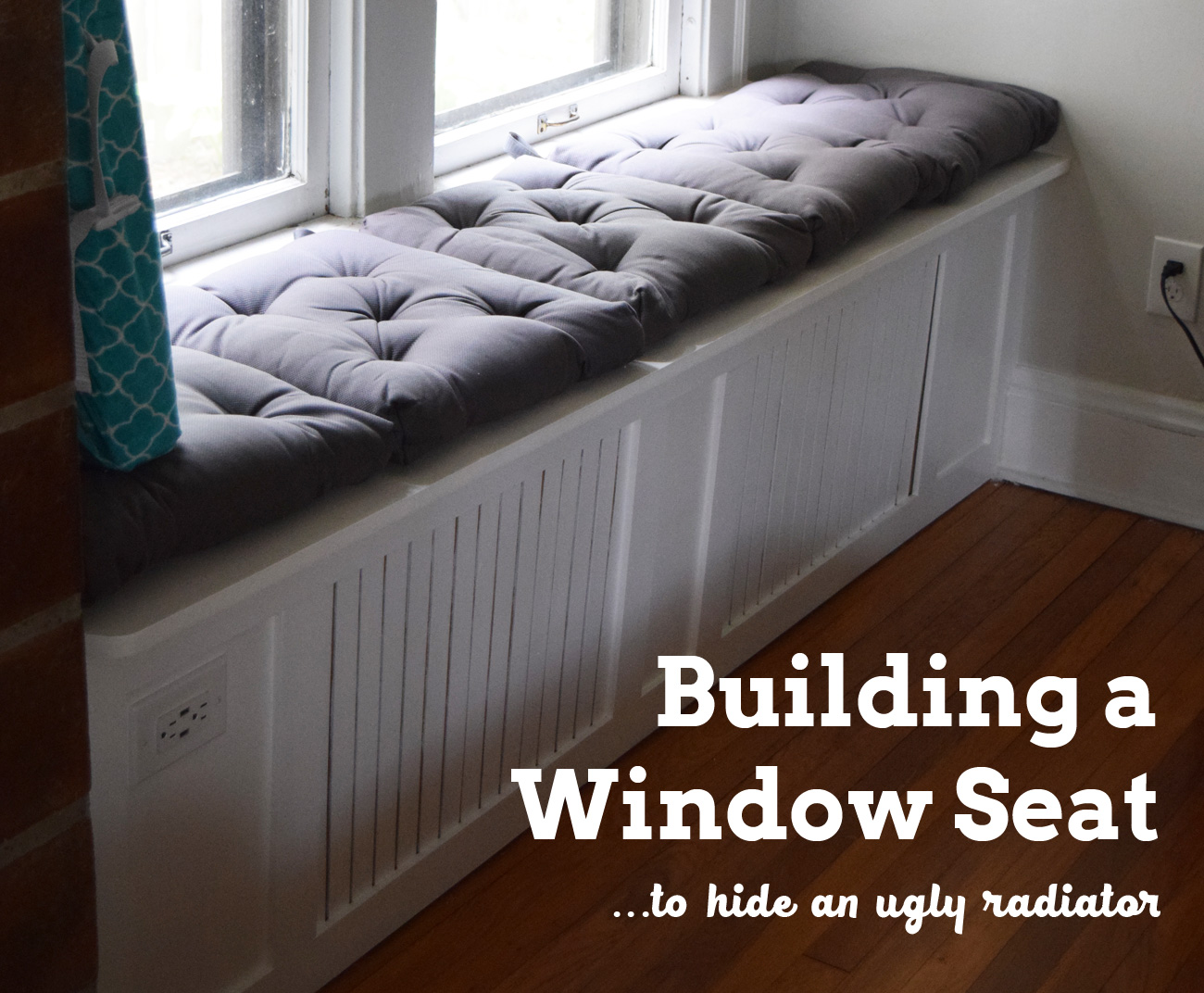 Fine Building A Window Seat To Hide An Ugly Radiator Always Bralicious Painted Fabric Chair Ideas Braliciousco