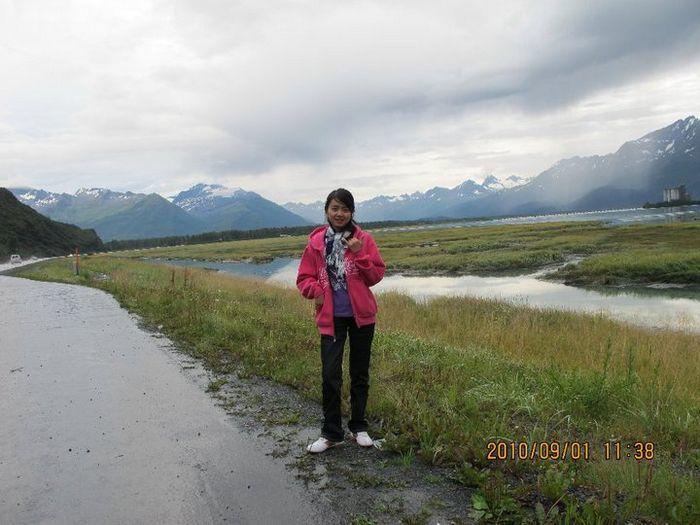 Road trip from Anchorage to Valdez, Alaska