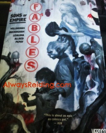 All in the Family: A review of Fables: Sons of Empire