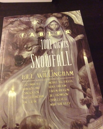 A Retelling of a Retelling: Fables 1001 Nights of Snowfall