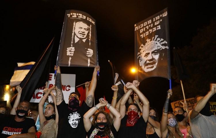 تحذيرات من حرب أهلية.. توترات قبل المظاهرة قرب منزل نتنياهو