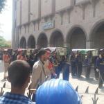 رسمياً وشعبي، في موكب جنائزي مهيب، مسور عمران تزف أحد شهدائها الأبطالها