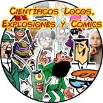 Científicos locos, explosiones y cómics