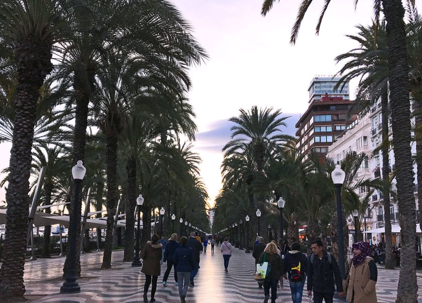Explanada de Espana in Alicante