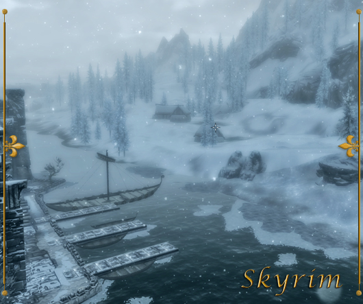 Skyrim - Solitude Harbor