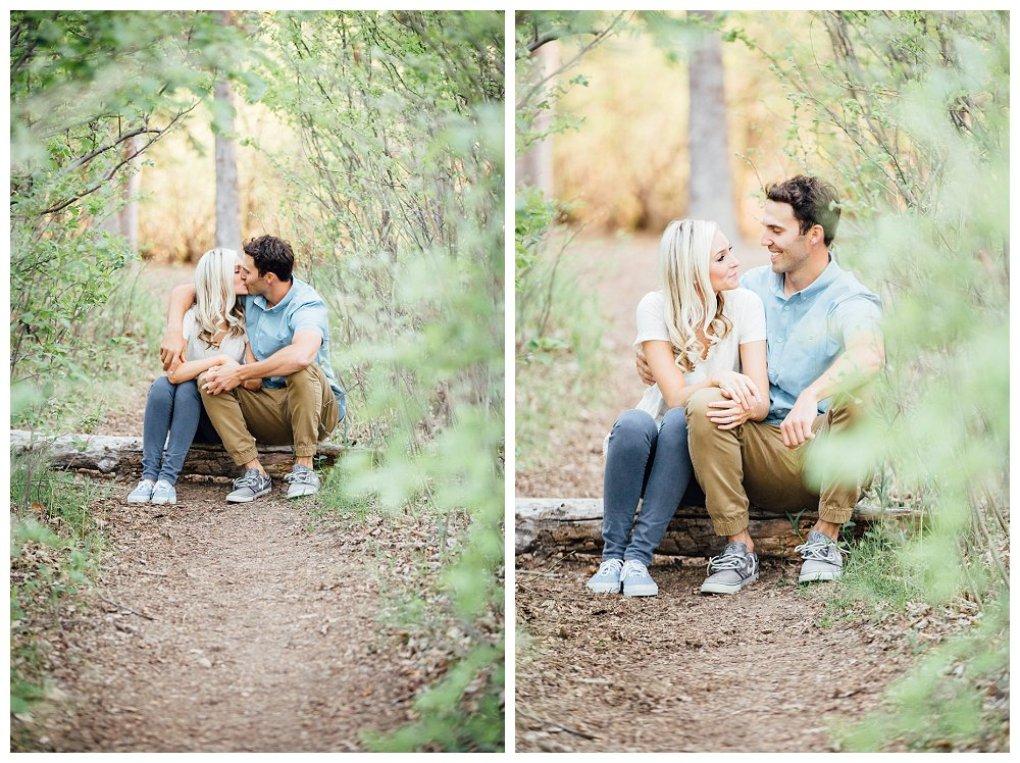 Edworthy Park engagement photos