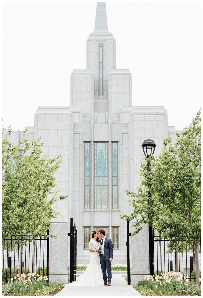 Calgary LDS Temple Wedding