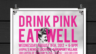 Drink Pink, Eat Well