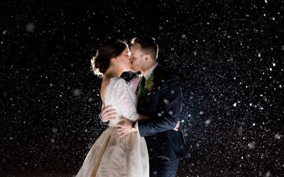 Skylar + Adam's Winter Wonderland Wedding
