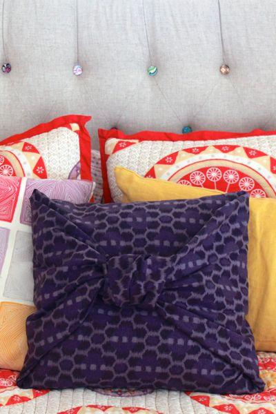diy no sew pillowcase