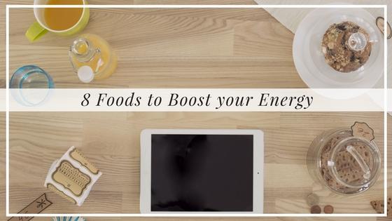 8 Energy Boosting Foods