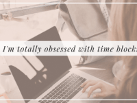 WHY I'M OBSESSED WITH TIME BLOCKING (and you should be too), Alyssa Coleman, wellness, productivity, creative entrepreneur