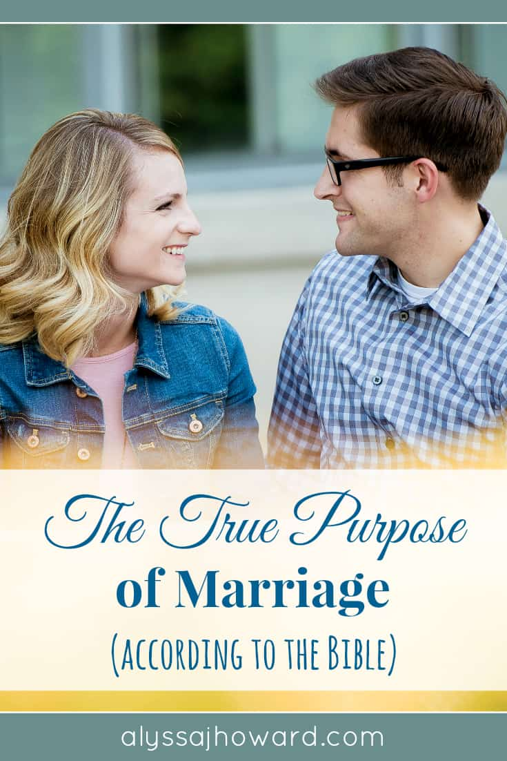We all strive to better our marriages. But the truth is that marriage was God's idea and the true purpose of marriage is outlined for us in God's Word.