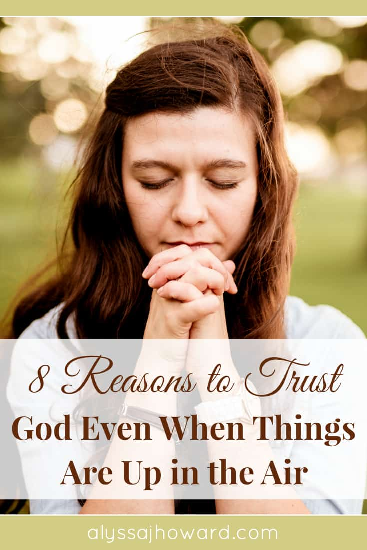If every life circumstance were easy enough for us to handle on our own, we would never learn to fully trust God. We can rely on Him in all things.