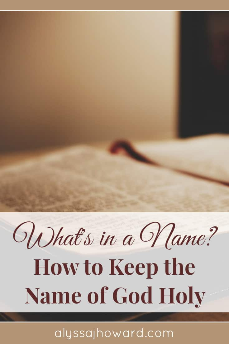 The name of God is powerful and holy. Are we misusing it when we use expressions like OMG? Or is taking His name in vain much more than that?