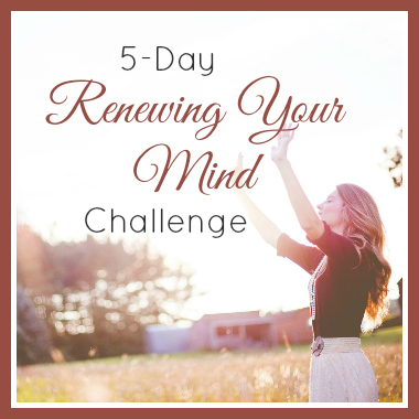 5-Day Renewing Your Mind Challenge | alyssajhoward.com