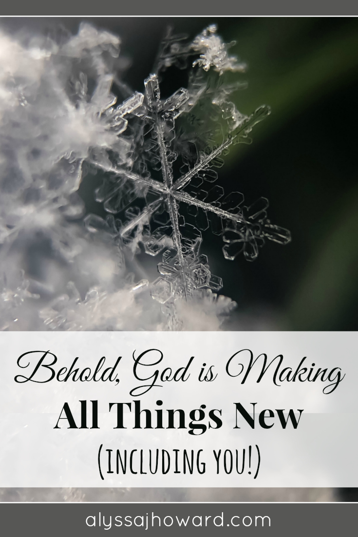 God is making all things new, including you! But it's not enough to know this truth, we have to live by it. So, what steps are you taking to walk in truth?