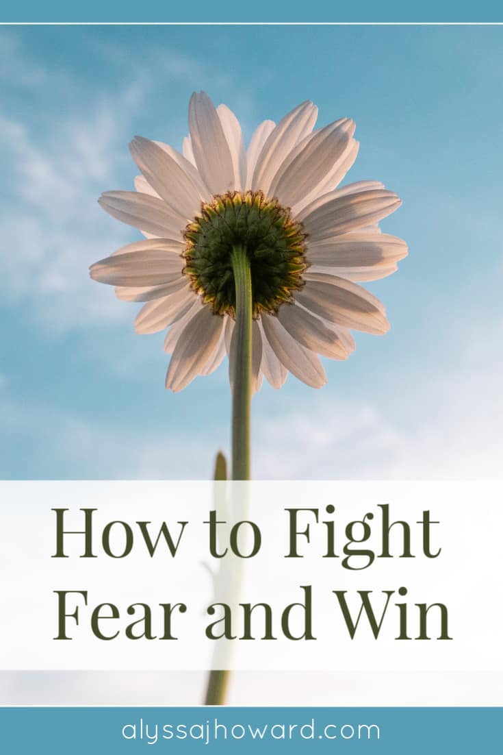 How to Fight Fear and Win | alyssajhoward.com