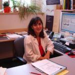 La neuróloga Teresa Gómez Isla en su despacho del hospital Massachussets General de Boston.