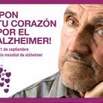 La campaña solidaria 'Pon tu corazón por el Alzheimer' ya ha recibido 21.000 mensajes de apoyo.