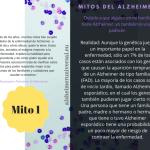 Mitos del Alzheimer. Mito 1