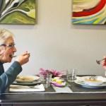 Alimentación de personas con demencias.