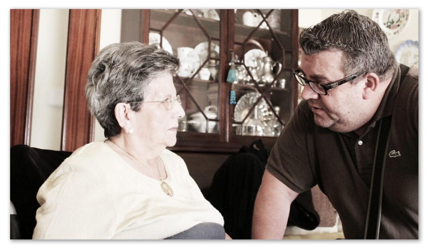 Juan Carlos Romero (A mi Madre, Cartas del Alzheimer)