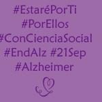 Por ti. Por ellos. 21 de septiembre. Día Mundial del Alzheimer