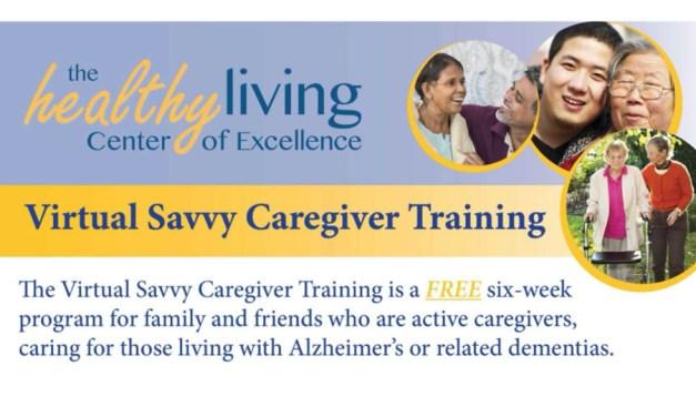 Virtual Savvy Caregiver Training