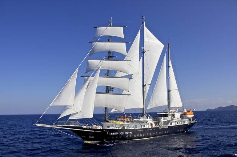 Luxury Sailing Ship In Mediterranean AM Charter