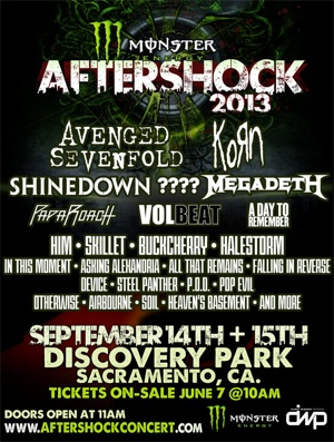 Monster Energy's Aftershock 2013