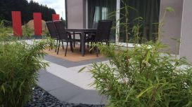 Terrasse dalles et bois, Epinal