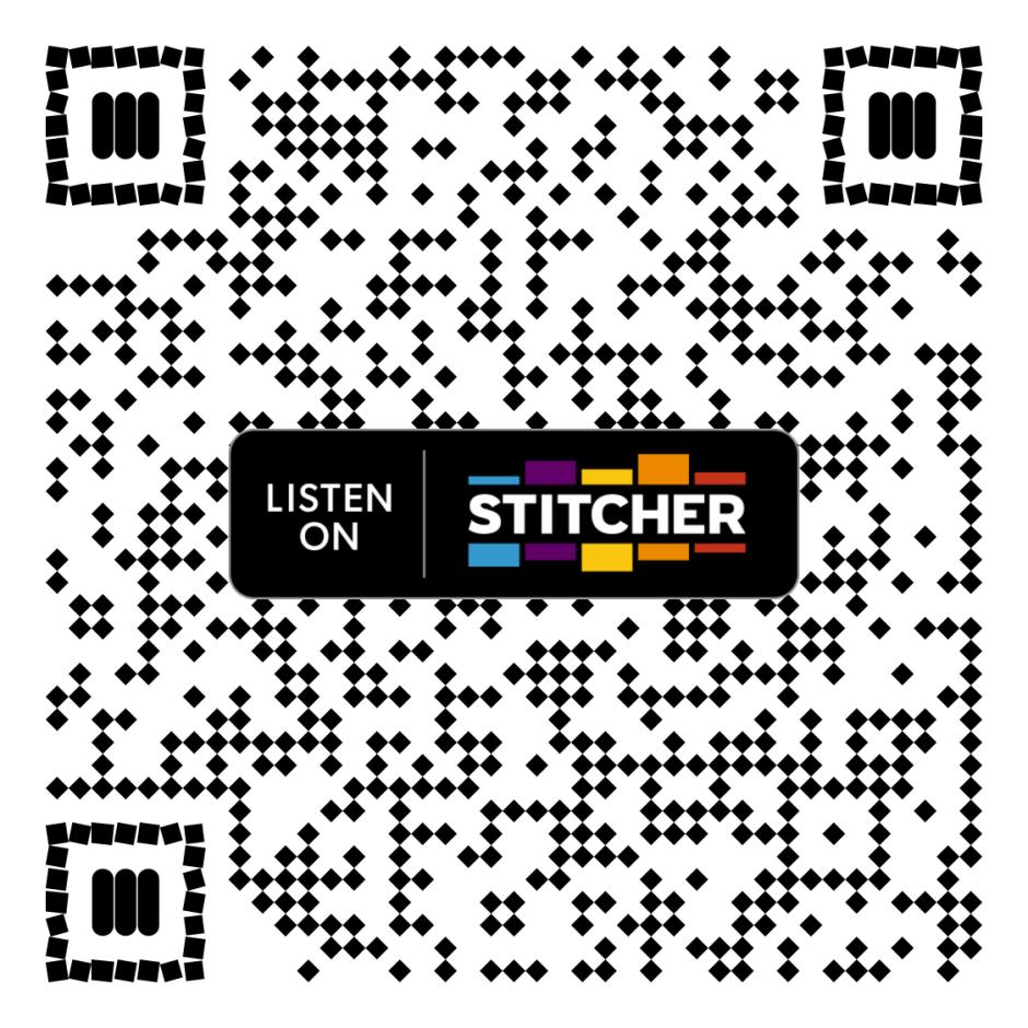 《今日話題》在Stitcher上的Podcast 二維碼