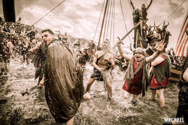 Romería #Vikinga de #Catoira AMA ARQUITECTURA
