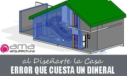 Cuidado con esto al Diseñar tu Casa, o te Pulirás un Dineral sin darte cuenta
