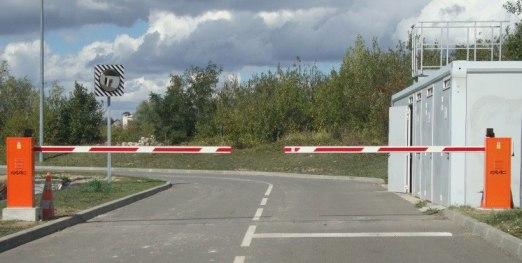 barrière levante Faac - barrières et bornes