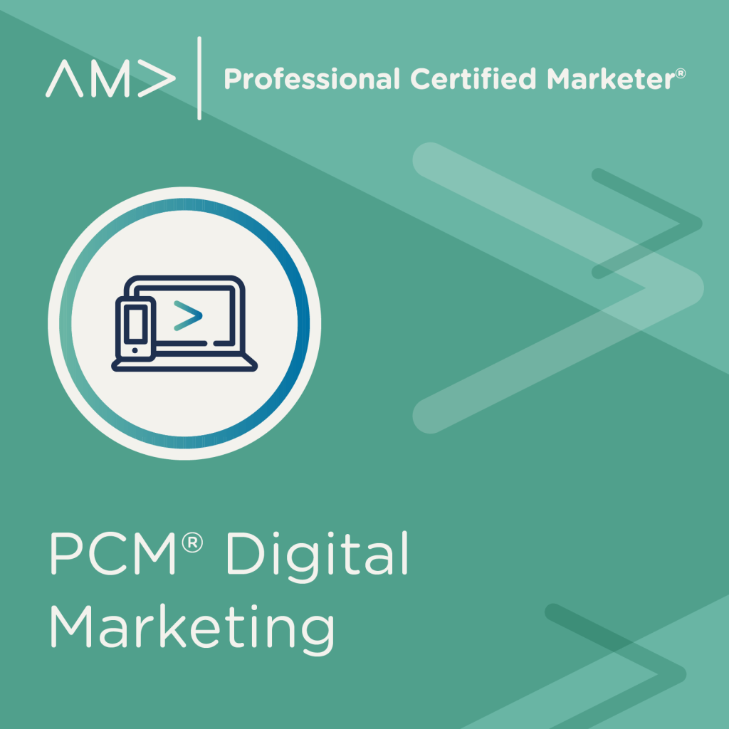 Professional Certified Marketer American Marketing Association