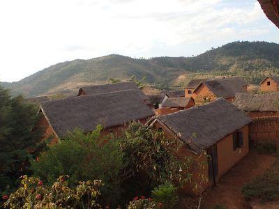 village Madagascar soie