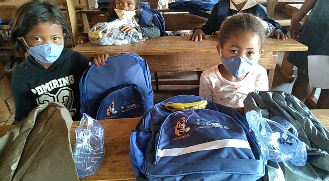 Distribution des kits scolaires 2020-2021