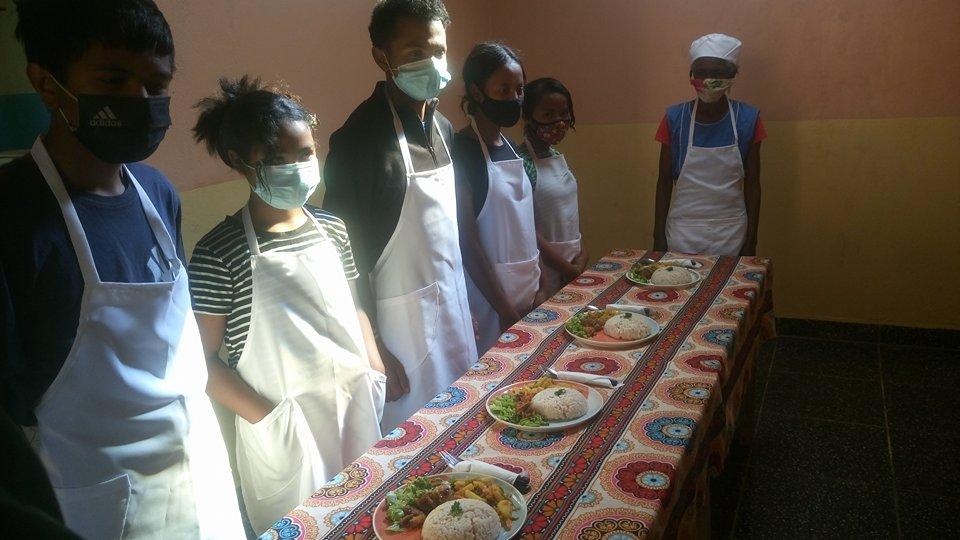 1er Stage de cuisine au CFP d'Antsirabe