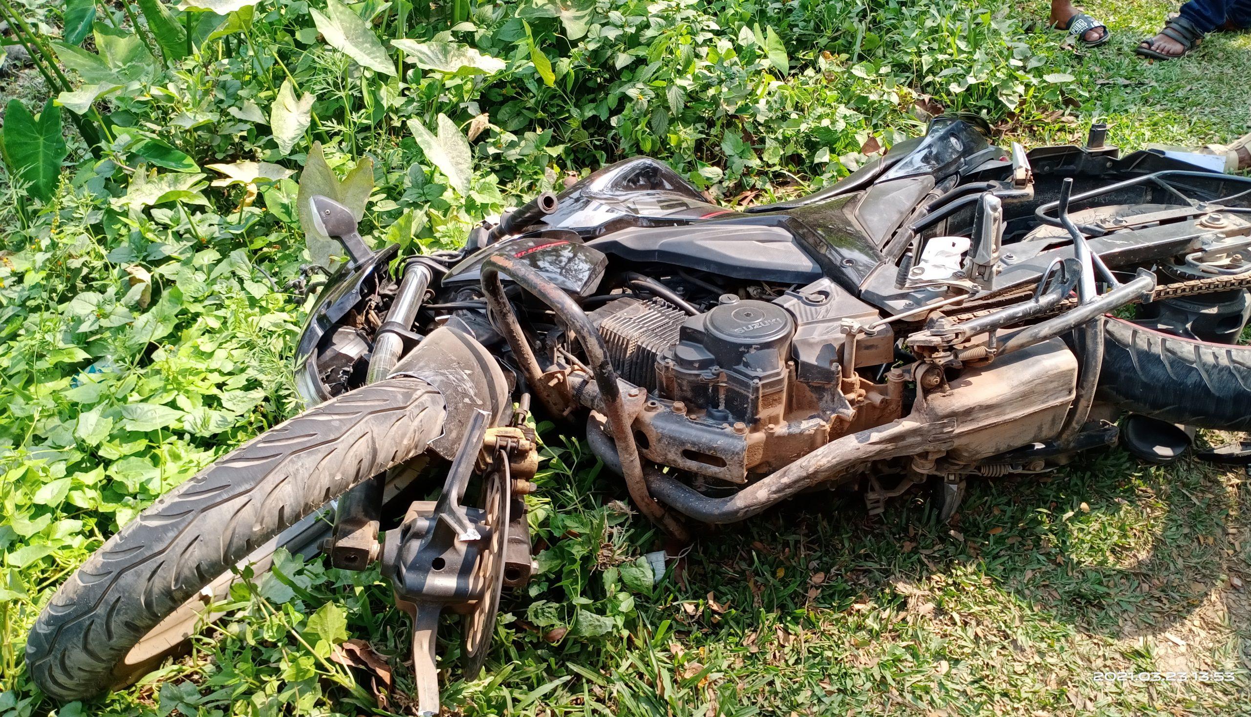 কাউখালীতে মোটর সাইকেল দূর্ঘটনায় যুবক নিহত