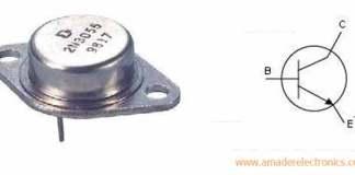 NPN transistor (2n3055) এর বাস্তব রূপ ও সিম্বল