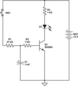 transistor delay-1